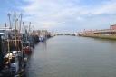 The port in Coxhafen!